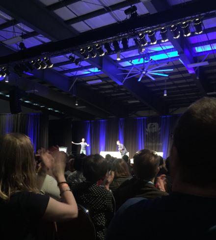 Doug Jones takes the stage.JPG