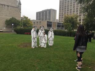 Zombie Stick Family