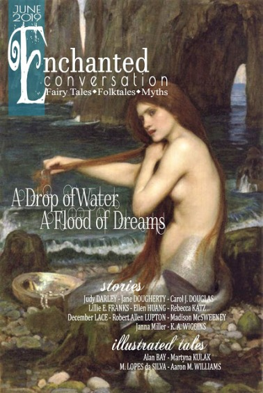 A Drop of Water, A Flood of Dreams - JUNE 2018 - Cover A. Bergloff